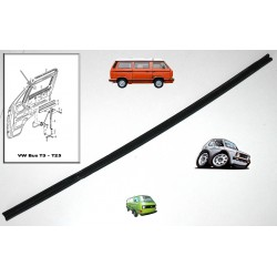 Joint coulisseau vitre porte avant VW Bus T3 & Golf Mk1