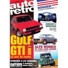 1999 Autoretro Magazine - Golf GTI Series 1