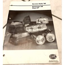 Hella Comparative Auto Parts Catalog 1992