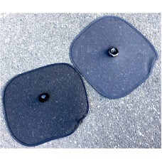 Pair of sun visors for car windows