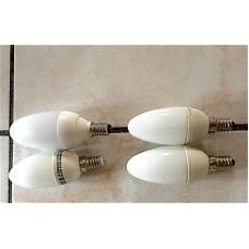 Lot economical bulbs E14 (Small base)