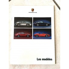 Porsche 911 Dealer Catalog Brochure