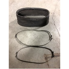 VW Type 3 air supply hose clamps