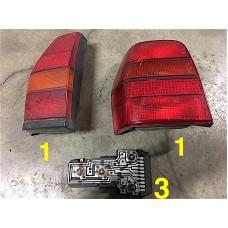 Left rear lights Polo type 86