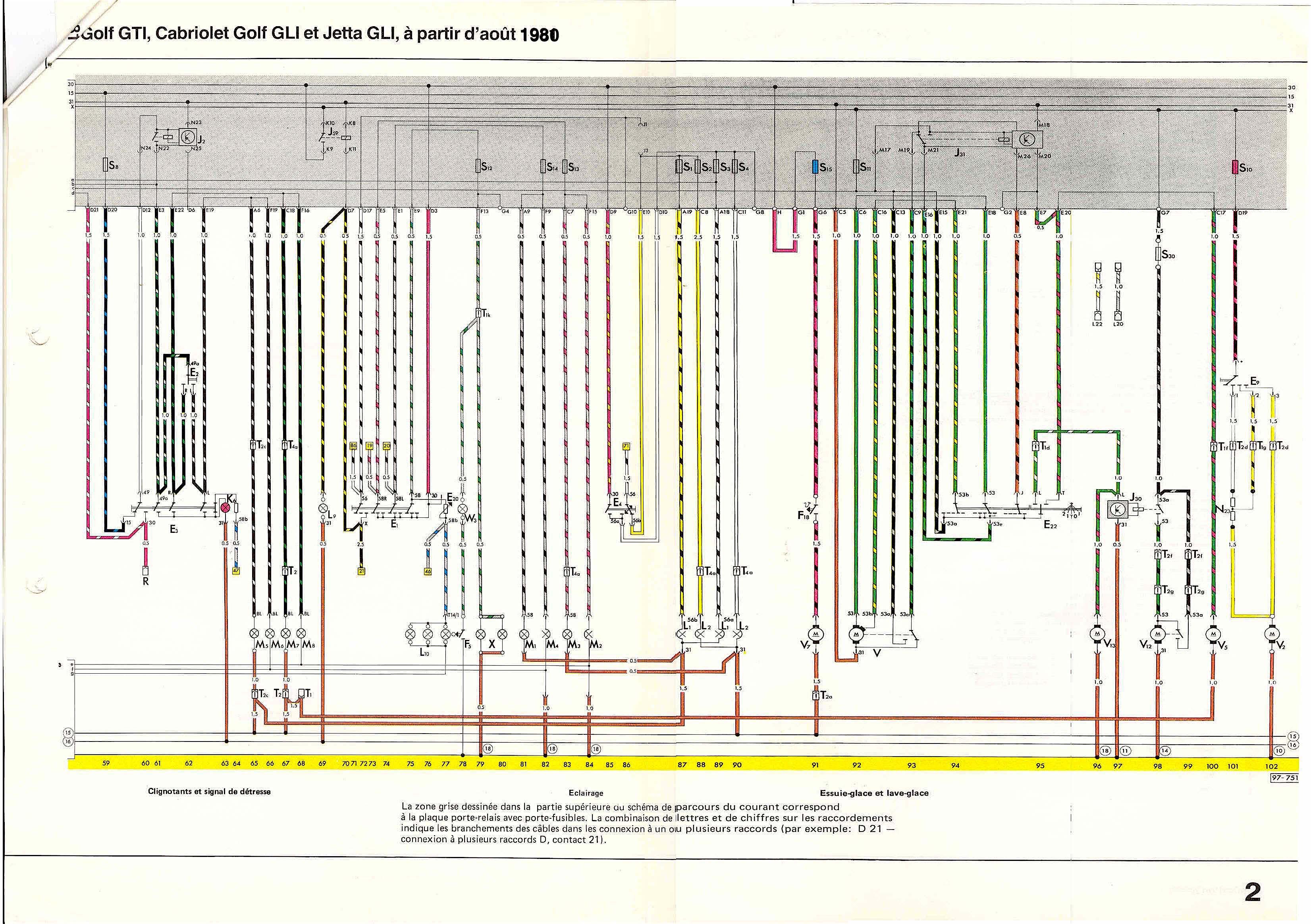 Schema Elettrico Golf 5 : Schema electrique golf diesel wire center u