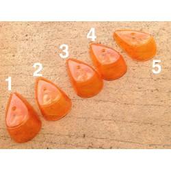 Verre orange clignotant avant Beetle