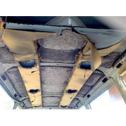 Gaine ventilation / climatisation pour plafond