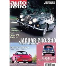 Magazine autoretro year 2000 - Porsche 911 - Jaguar