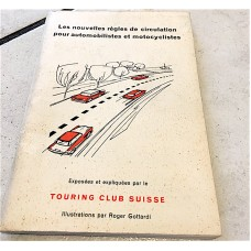 Swiss Federal Book of the TCS - Rules of Car Traffic - Year 1963