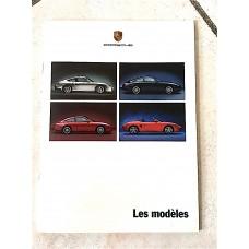 Porsche 911 Dealer Catalog Brochure