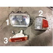 Lot headlight and turn signals Japanese - Subaru