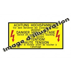 Sticker Danger, High Voltage Engine
